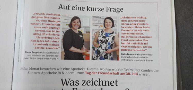 Baby & Familie-Interview in der Sonnen-Apotheke Ostheim