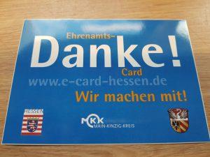 Ehrenamts-DANKE Card