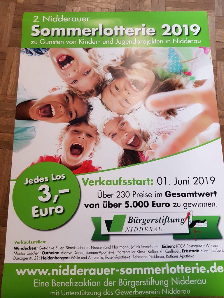 2. Nidderauer Sommerlotterie 2019