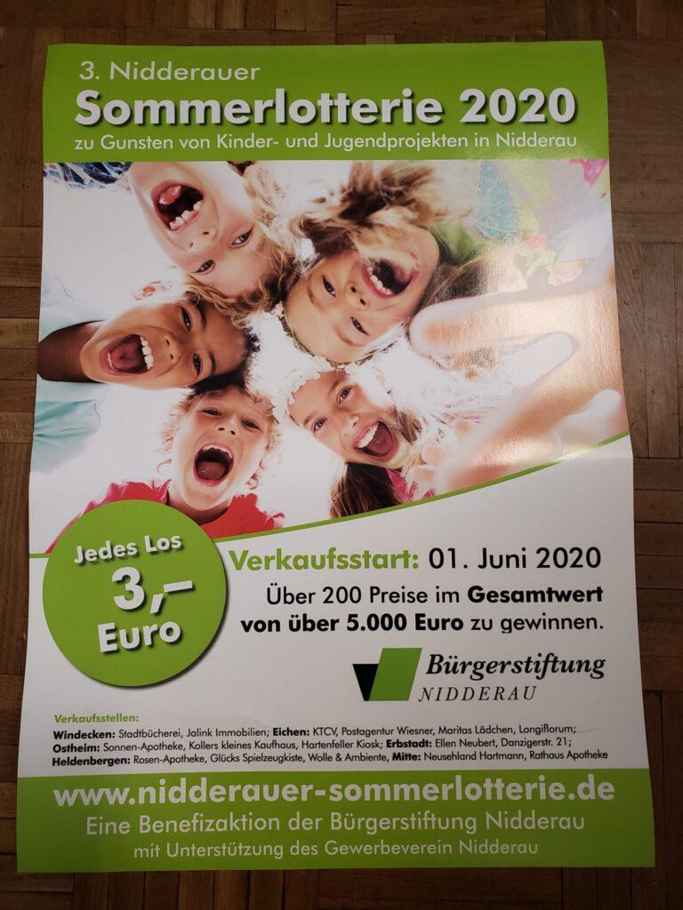 3. Nidderauer Sommerlotterie 2020