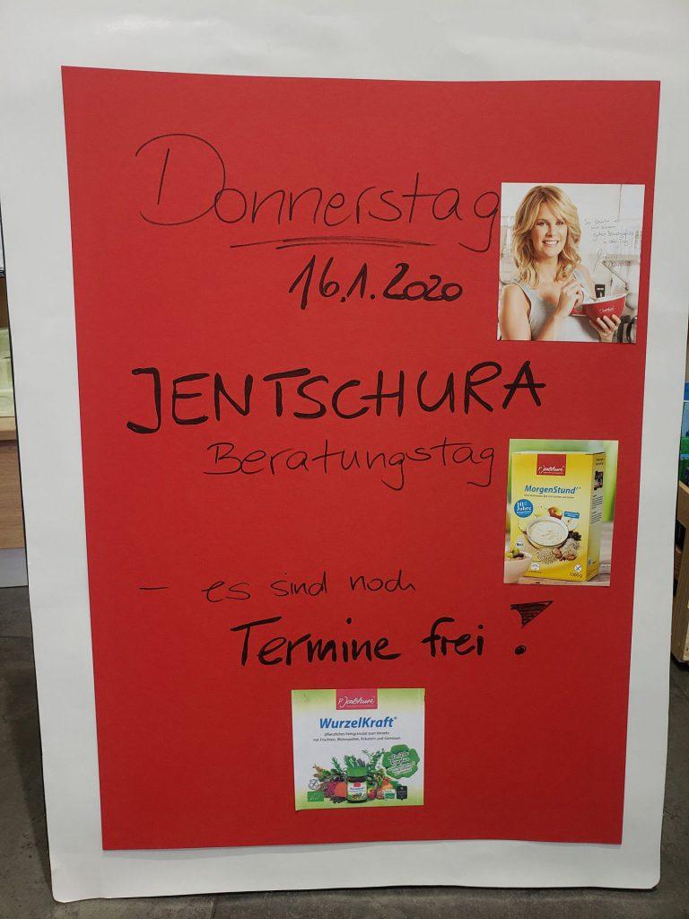 Jentschura-Aktionstag 16.1.20-basische Ernährung und Körperpflege