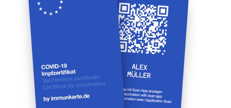 Immunkarte-digitale Impfausweis